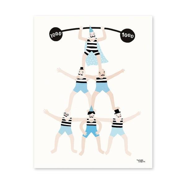 Plakat Michelle Carlslund Acrobats, 30x40cm