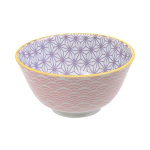 Różowo-fioletowa porcelanowa miska Tokyo Design Studio Star, ⌀12cm