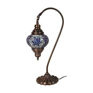 Lampka szklana Fishing IV, 13 cm