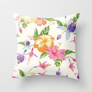 Poszewka na poduszkę Floral IV, 45x45 cm