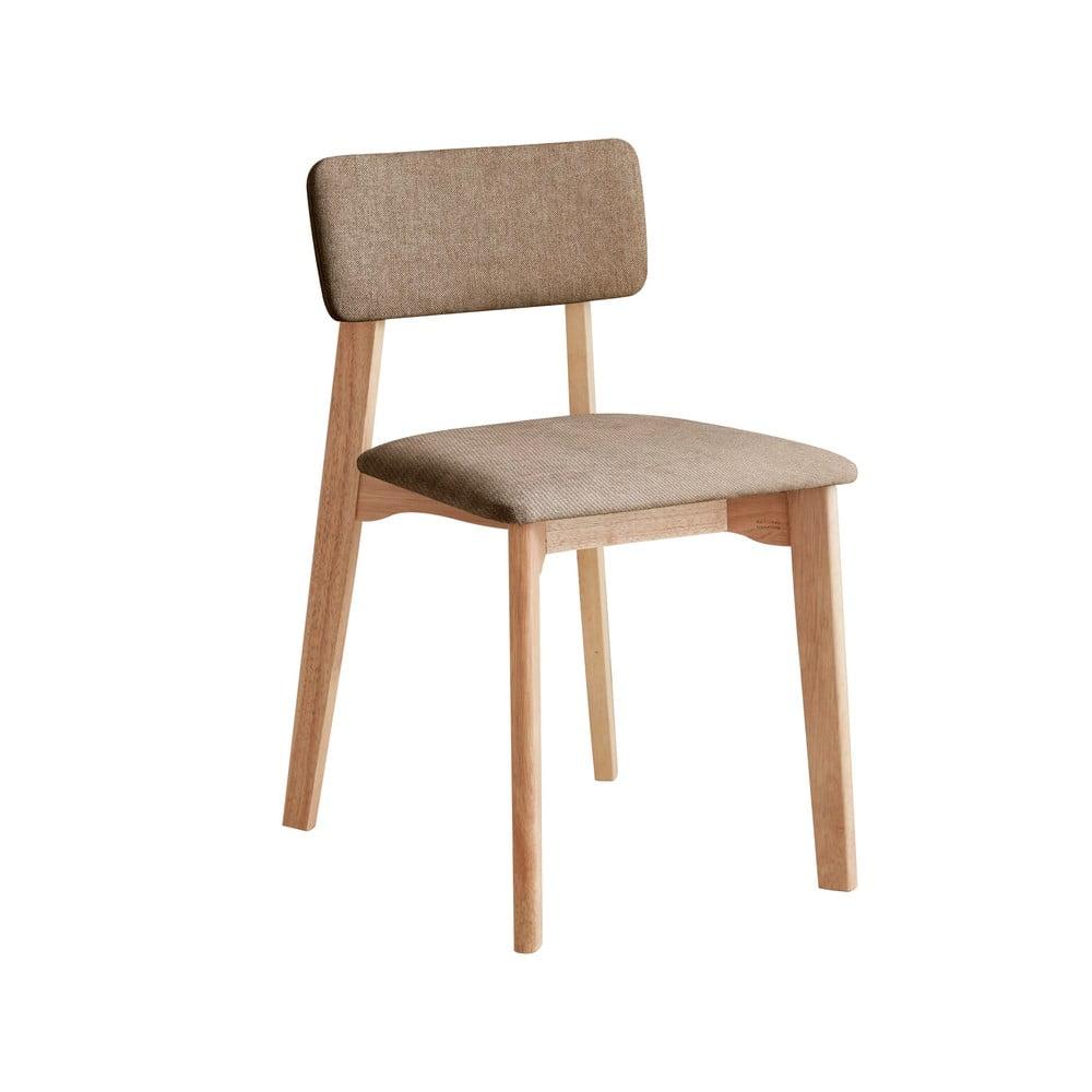 Krzesło biurowe z brązowym obiciem tekstylnym, DEEP Furniture Max