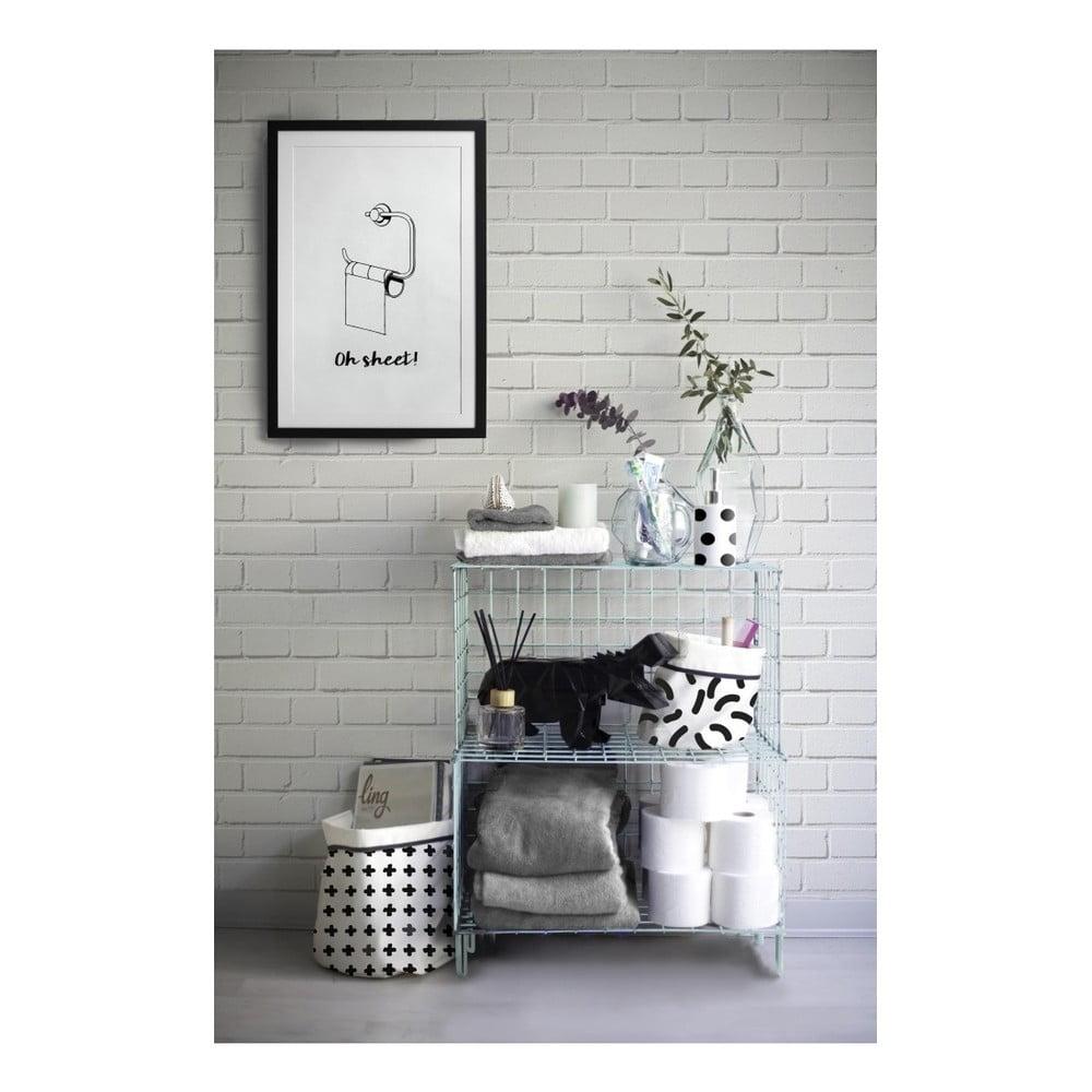 jasnoniebieski rega metalowy really nice things 56x70 cm bonami. Black Bedroom Furniture Sets. Home Design Ideas