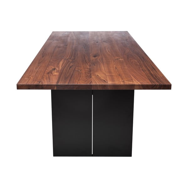 Stół do jadalni z drewna orzecha czarnego Fornestas Fargo Dadalus, długość 180cm