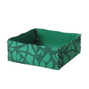Filcowe pudełko, 12x6 cm, zielone