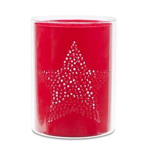 Świecznik Star Red Cylinder