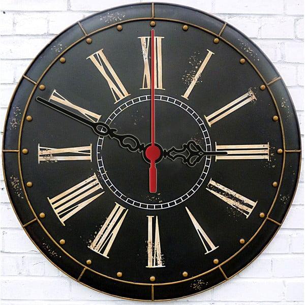 Zegar ścienny Dark Vintage, 30 cm