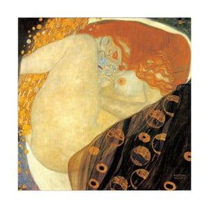 Obraz Gustav Klimt - Danae, 30x30 cm