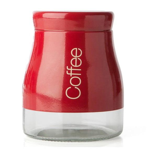Czerwony pojemnik na kawę Sabichi Coffee, 700 ml