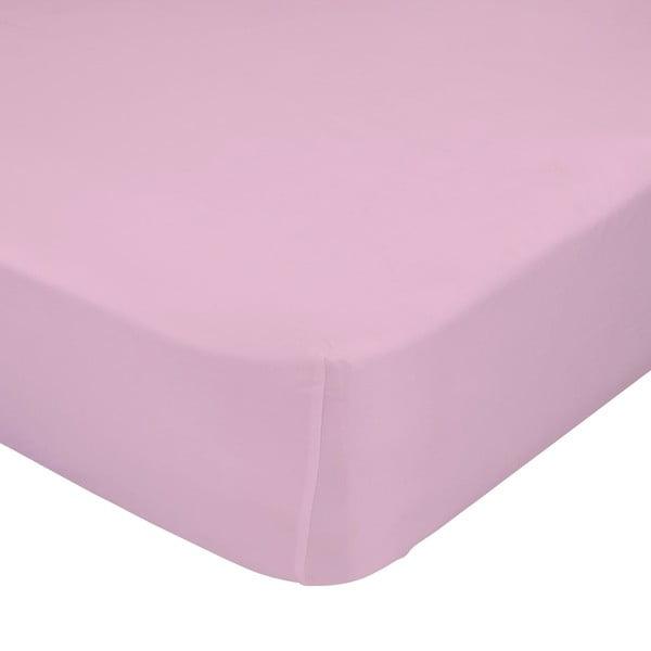 Prześcieradło elastyczne Baleno Rosa, 90x200 cm