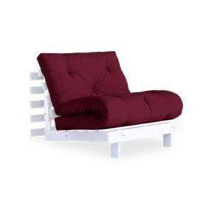 Fotel wielofunkcyjny Karup Design Roots White/Bordeaux