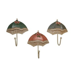 Zestaw 3 haczyków Umbrella