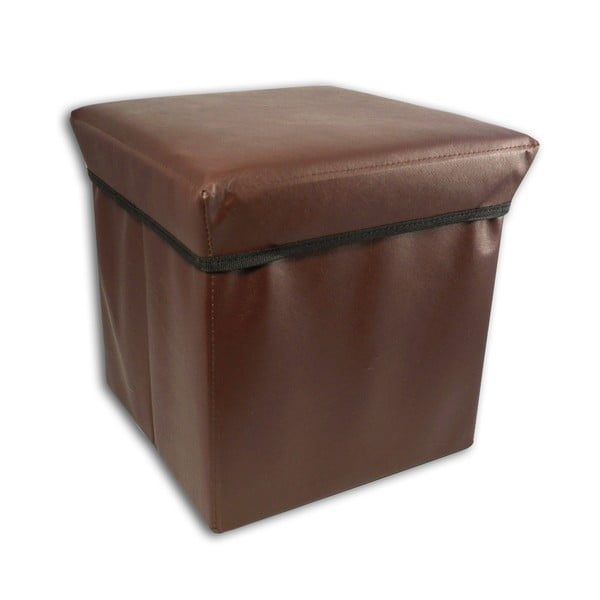 Taboret ze schowkiem Brown Stool