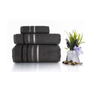 Zestaw 3 ręczników Lines V3, 30x50 cm + 50x100 cm + 70x140 cm