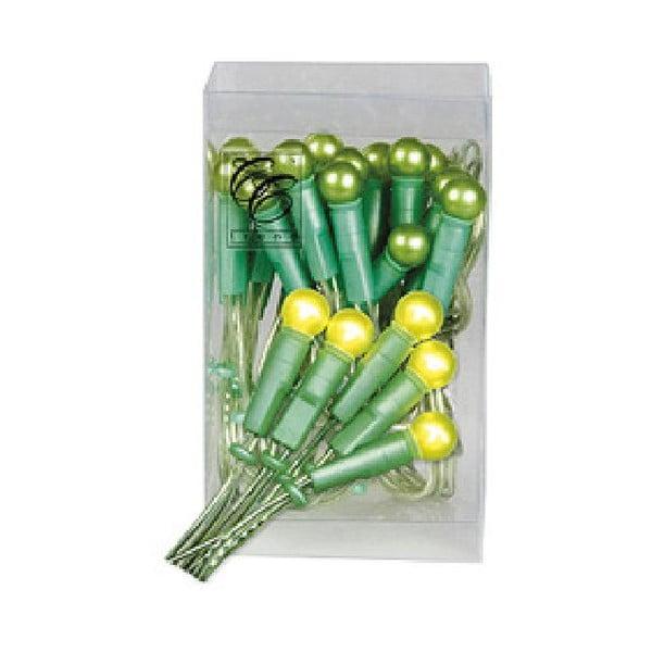 Świecący łańcuch Pearl Lights Green