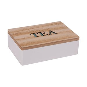 Pudełko na herbatę z wieczkiem Tea