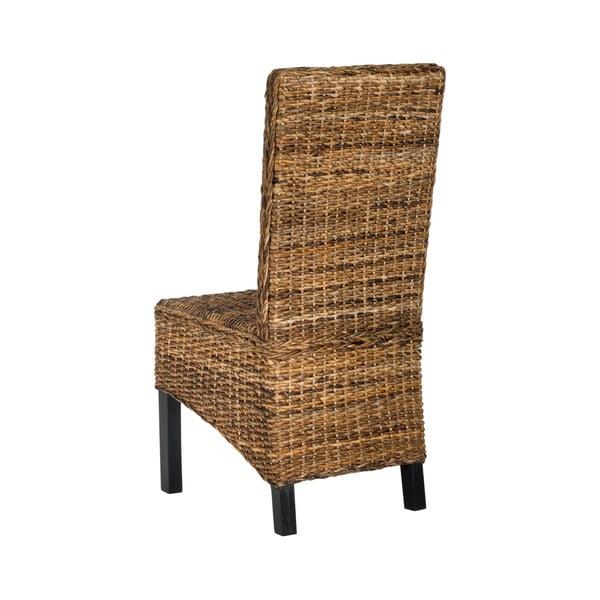 Zestaw 2 krzeseł ratanowych Pembroke
