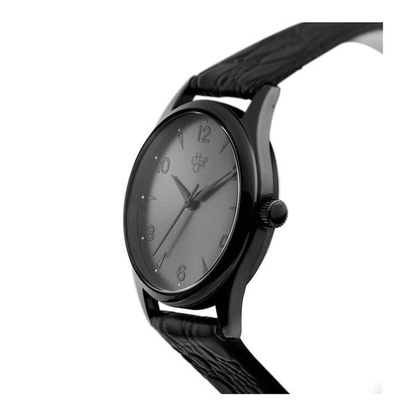 Zegarek z czarnym paskiem i czarną tarczą Cheapo Rodger