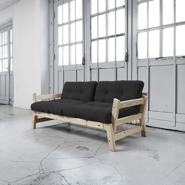 Sofa rozkładana Karup Step Natural/Grey