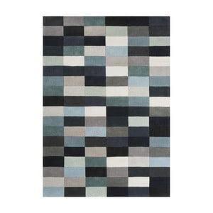 Wełniany dywan Romina Aqua, 170x240 cm