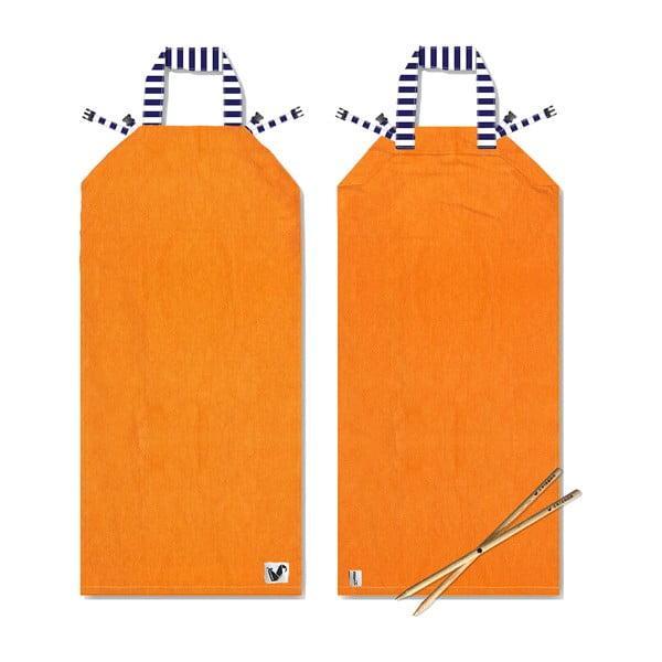 Leżak i ręcznik plażowy w jednym Sun Seat Carrot