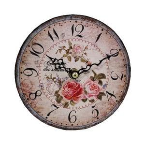 Zegar ścienny Antic Line Roses