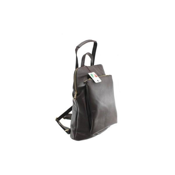 Skórzany plecaczek Cortese, czekoladowy