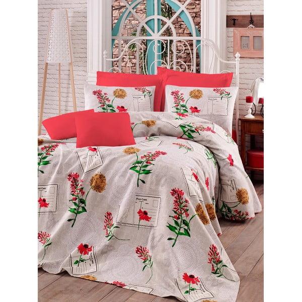 Zestaw:  prześcieradło i poszewka na poduszkę Love Colors Holly, 160 x 240 cm