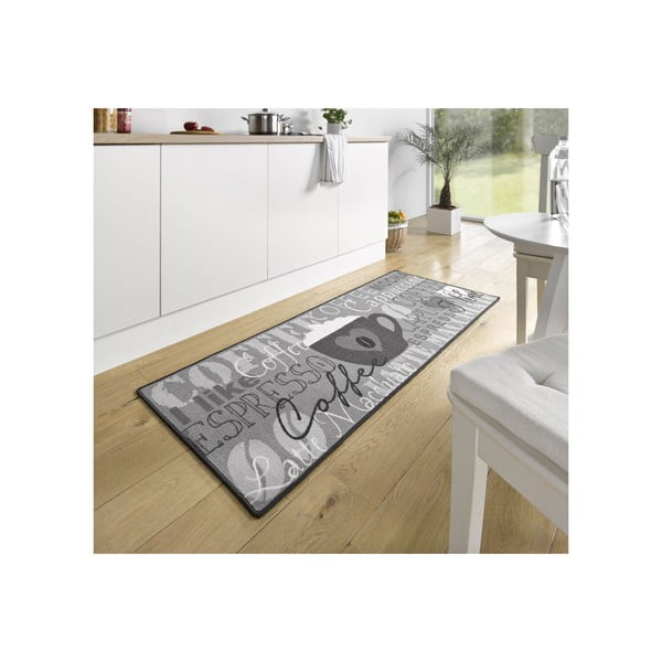 Szary dywan do kuchni HanseHomeCoffeeCup, 67x180cm