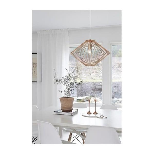 Lampa wisząca w kolorze mosiądzu Markslöjd Edge