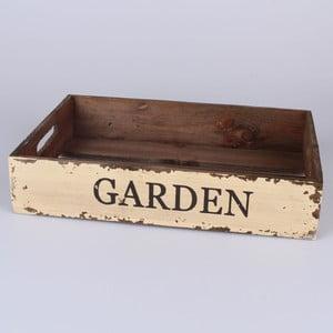 Drewniana taca Garden, 34x22 cm