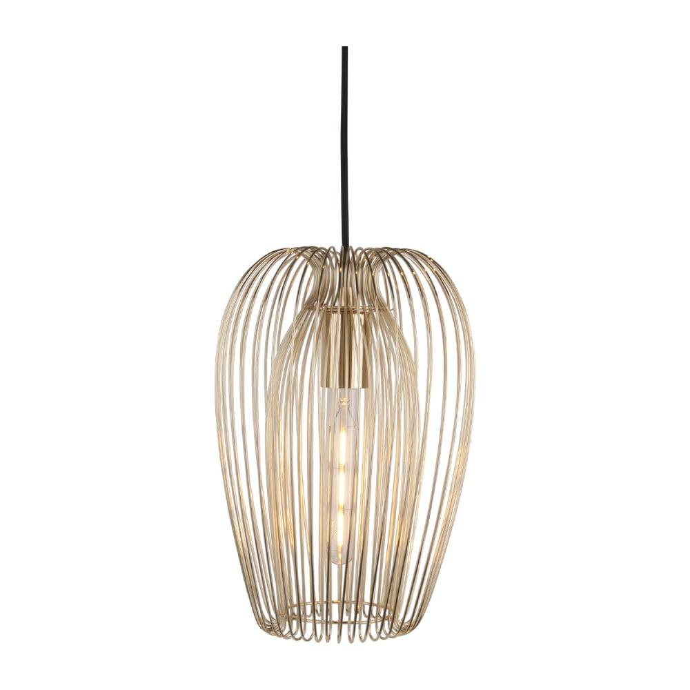 Lampa sufitowa z detalami w kolorze złota Leitmotiv Lucid