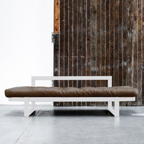 Sofa Karup Vintage Edge White/Mocca