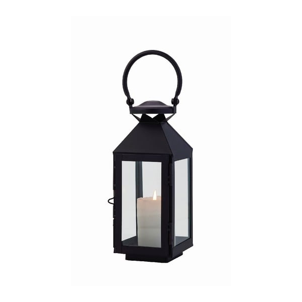 Lampion Veneto Black, 27 cm