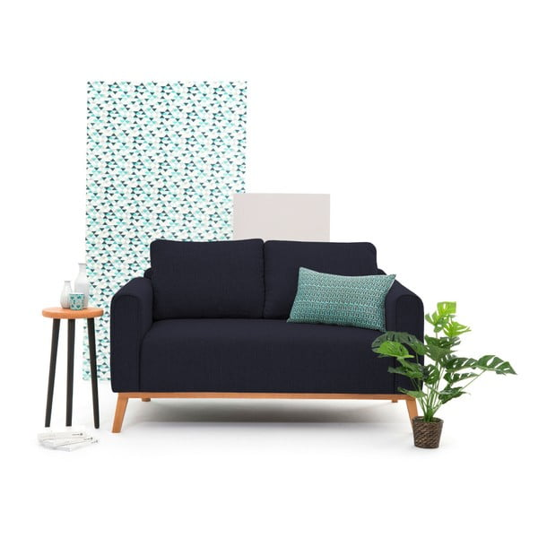 Ciemnoniebieska sofa 2-osobowa Vivonita Milton