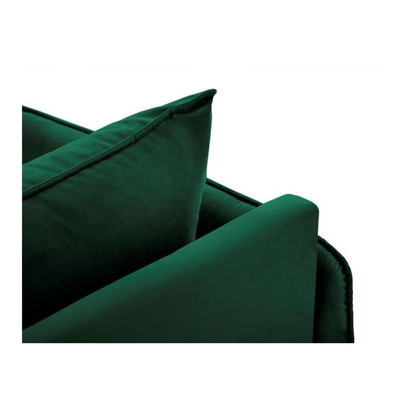 Zielony szezlong z podłokietnikiem po lewej stronie Cosmopolitan Design Vienna