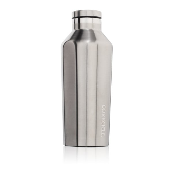 Srebrna   butelka termiczna Root7 Canteen, 260 ml