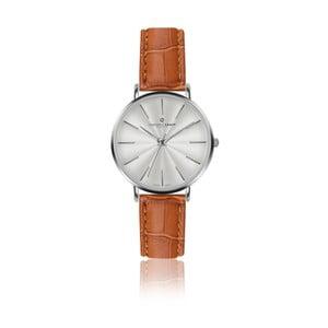Zegarek damski ze skórzanym paskiem w kolorze koniaku Frederic Graff Silver Monte Rosa Croco Ginger