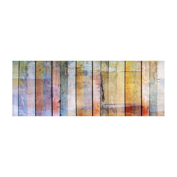 Winylowy dywan Cocina Maderas de Colores, 66x180 cm