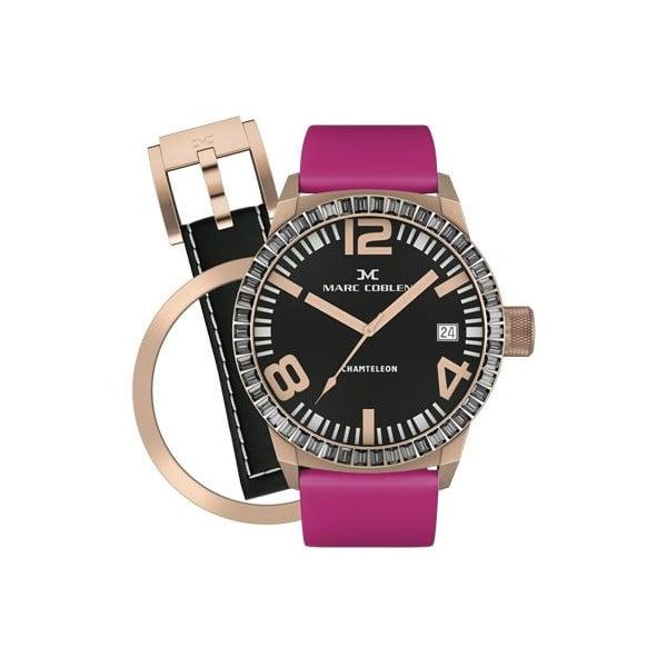 Zegarek damski Marc Coblen z dodatkowym paskiem i obręczą P34