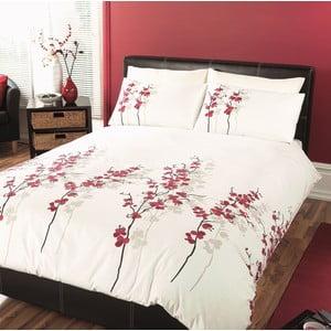 Pościel Oriental Flower Red, 135x200 cm