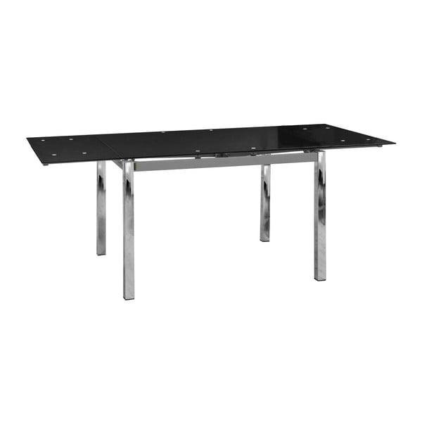 Czarny stół rozkładany 13Casa Forster