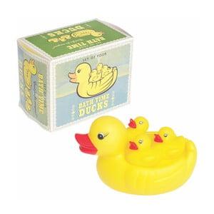 Zestaw gumowych kaczek do kąpieli Rex London