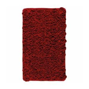 Czerwony dywanik łazienkowy Aquanova Rose, 60x100 cm