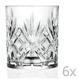 Zestaw 6 szklanek RCR Cristalleria Italiana Bianca