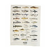 Ścierka Gift Republic Multi Fish 50x70 cm
