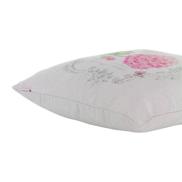 Poduszka z wypełnieniem Pink Hortensia