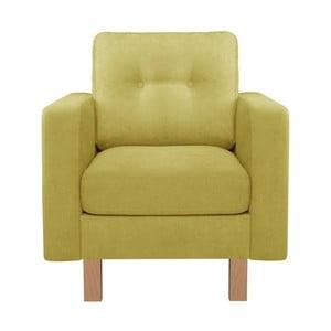 Limonkowy fotel Stella Cadente Lagoa