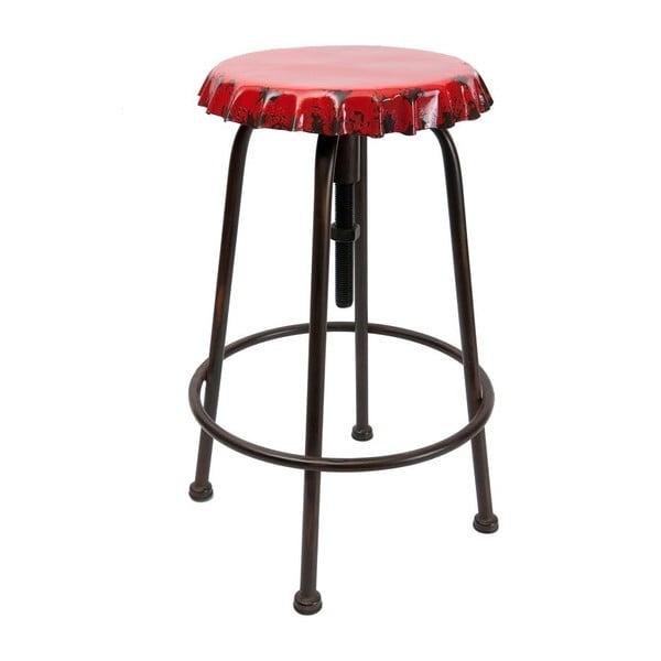 Metalowy stołek Tabouret Vintage Soda