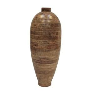 Wazon z drewna mango Canett, wysokość 76cm