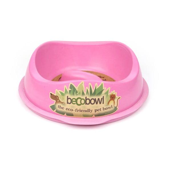Miska dla psa/kota Beco Bowl 28,5 cm, różowa